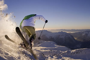 skiing and snowboarding in Alpe d'Huez
