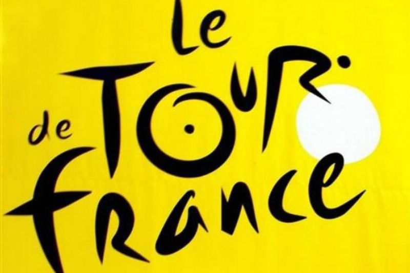 On the Tour de France route