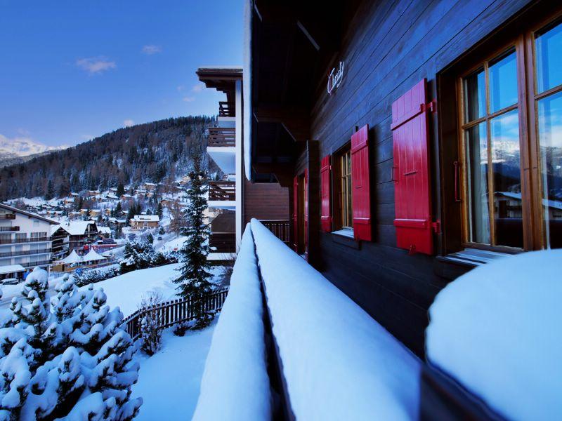Chalet Christy Nendaz - ski chalet for bed & breakfast, self catered ...