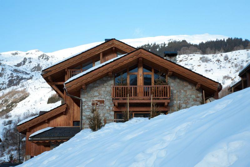 chalet floralie st martin de belleville ski chalet for catered chalet skiing snowboarding and