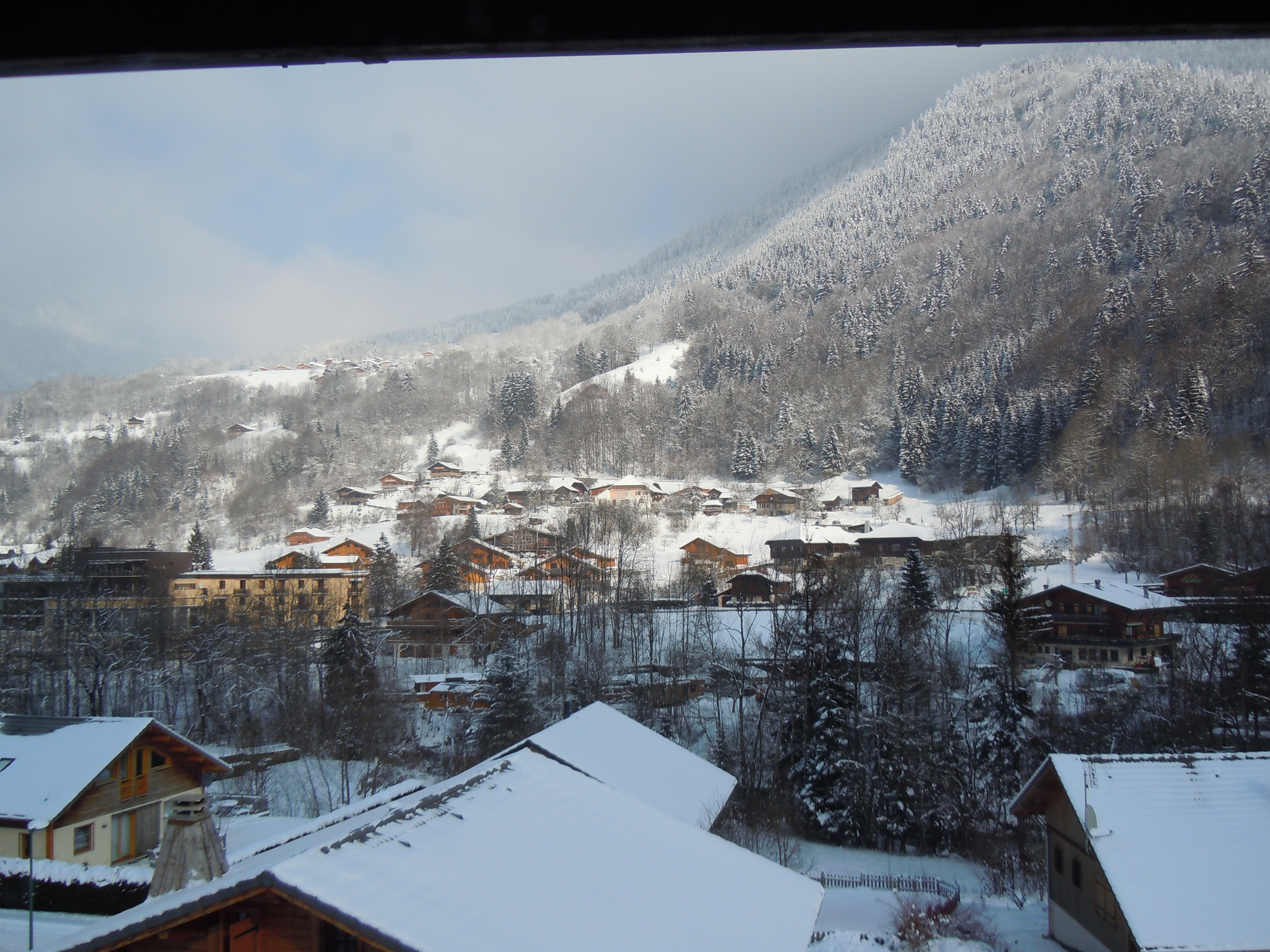 Fabulous views from Chalet