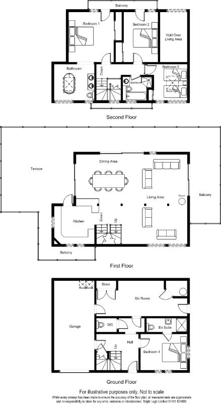Chalet Log Home Floor Plans | Log Home Design | Timber Frame Home
