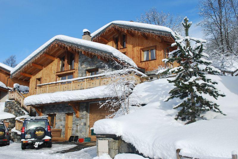 chalet st martin st martin de belleville ski chalet for catered chalet skiing holidays