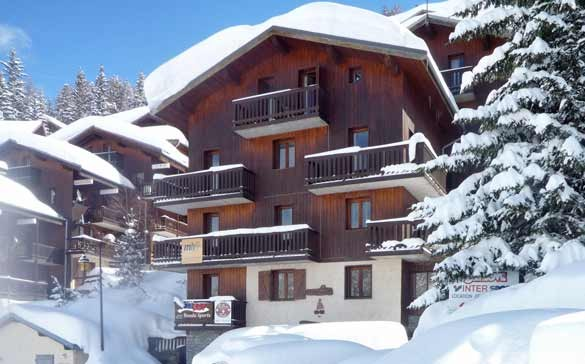 chalet gemeaux la plagne ski chalet for catered chalet skiing holidays snowboard and summer