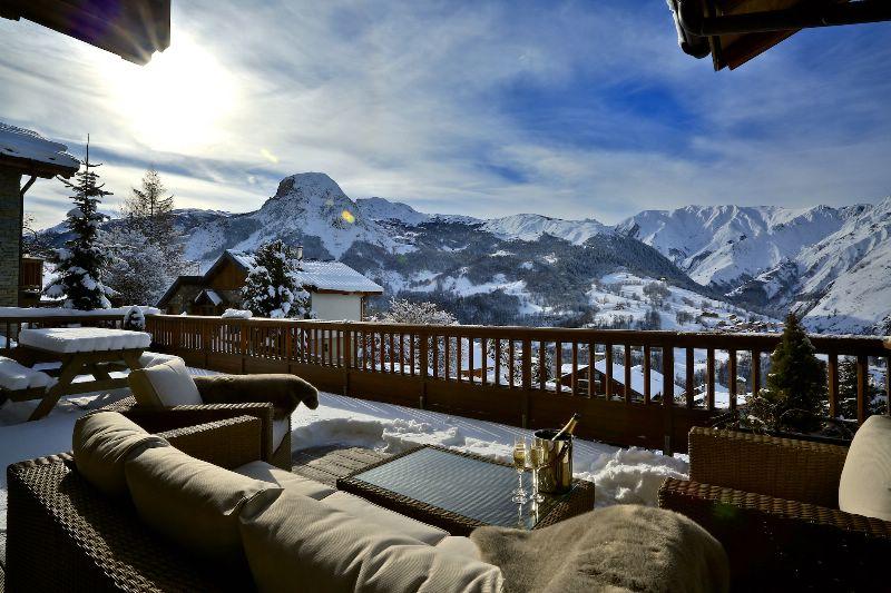 chalet cateline st martin de belleville luxury ski chalet for catered chalet ski holidays