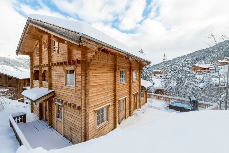 chalet la tania ski chalet for catered chalet ski holidays snowboarding and summer