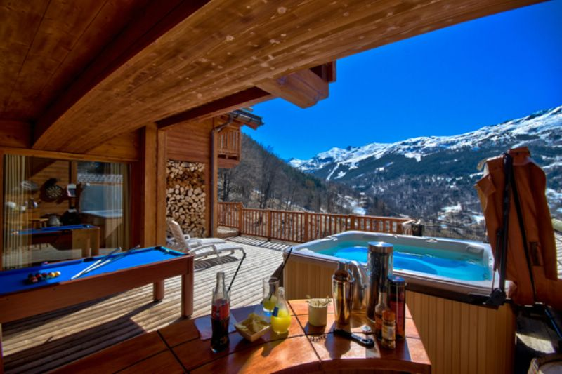 Chalet Patrice Meribel Ski Chalet For Self Catered Or