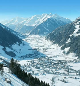 The beautiful Rauris Valley in Austria