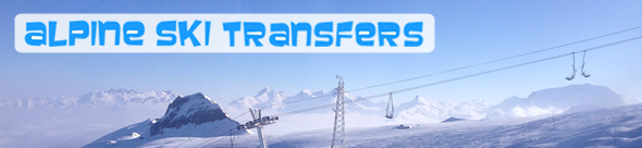 Alpine Ski transfers to the Three Valleys, France